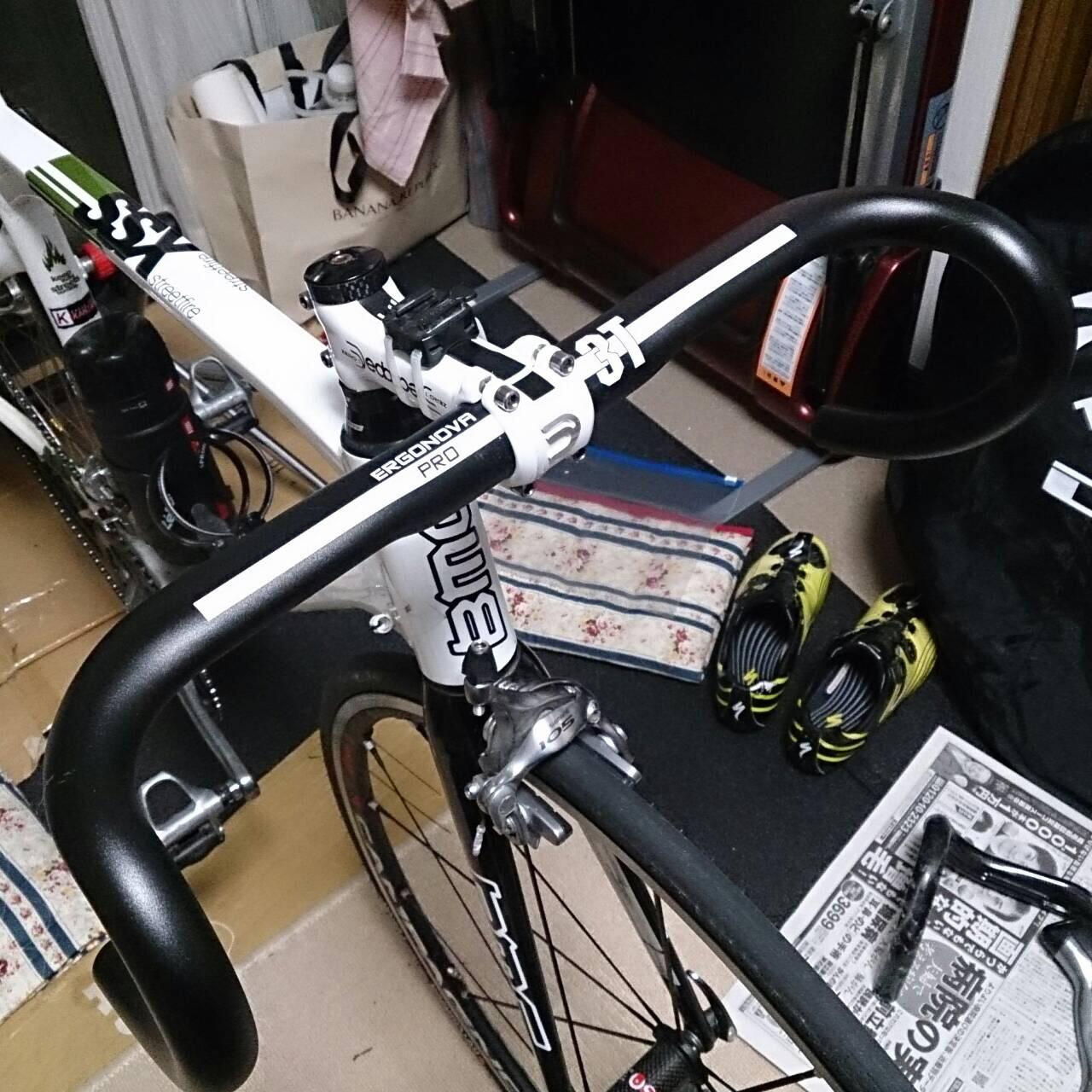 久しぶりの自転車メンテ