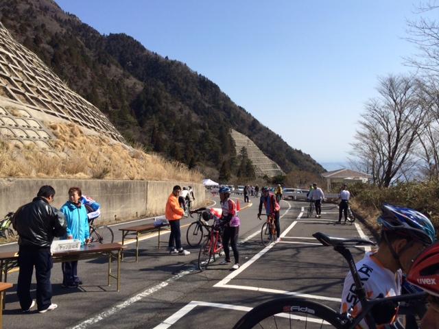 菰野ヒルクライム2016初参戦(レーススタート)