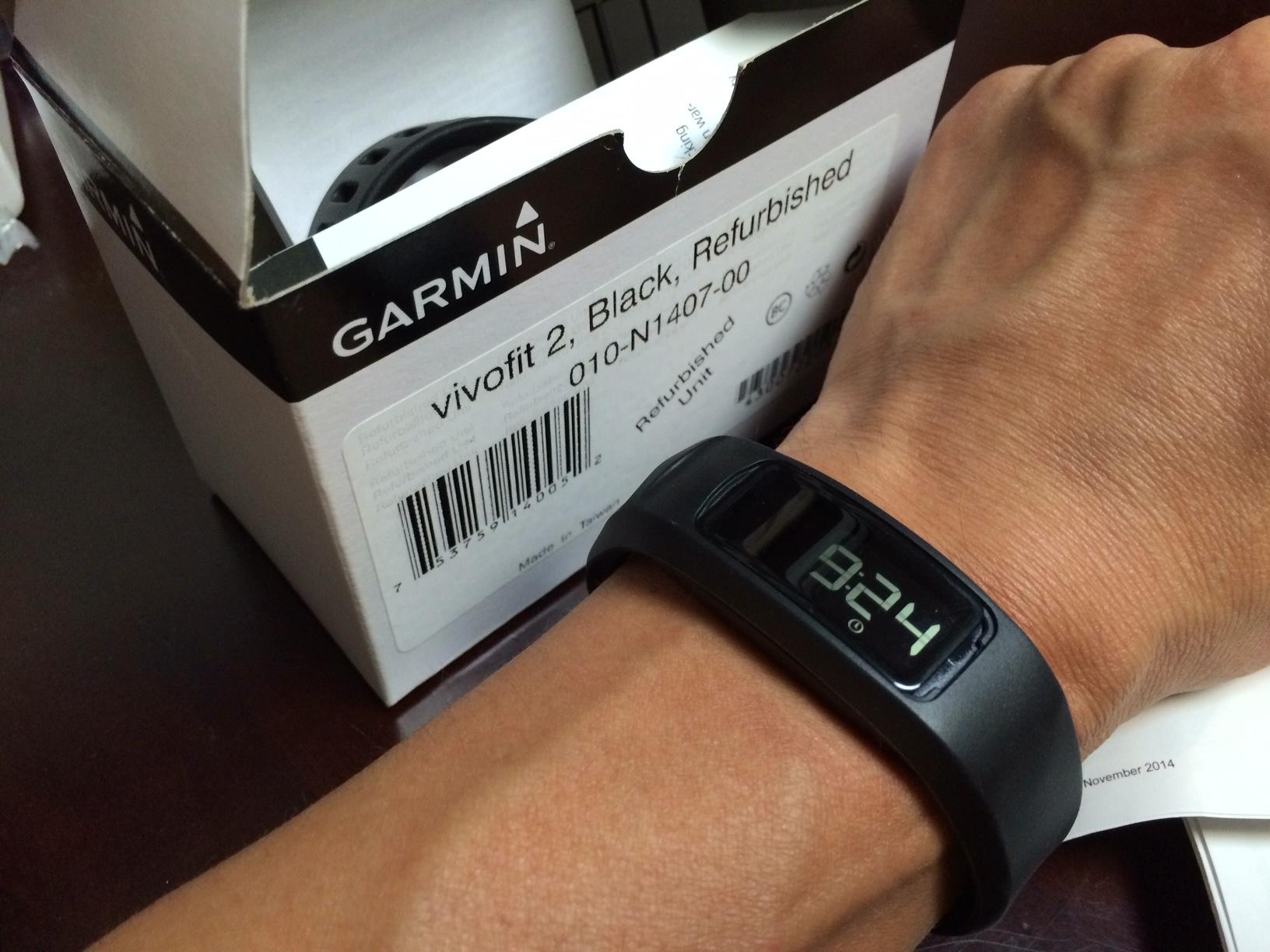 Garmin vivofit2買ってみました