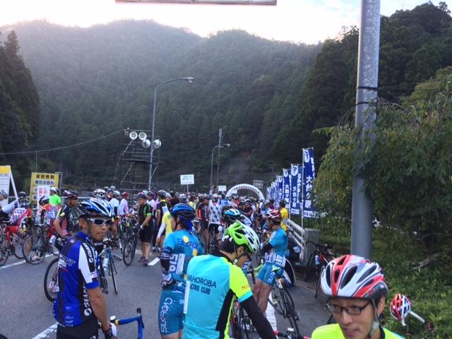 2016大台ヶ原ヒルクライムレース当日